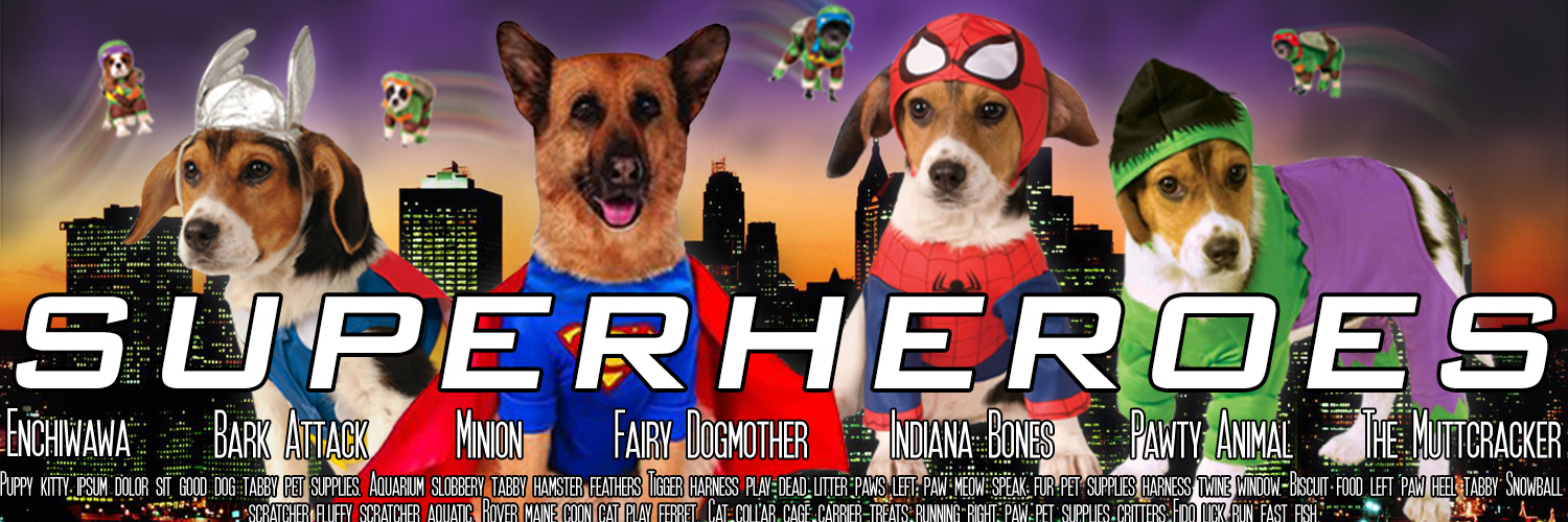 Fancydogs Superheroes
